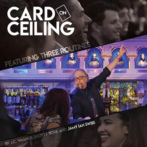 Card on Ceiling by Jamy Ian Swiss
