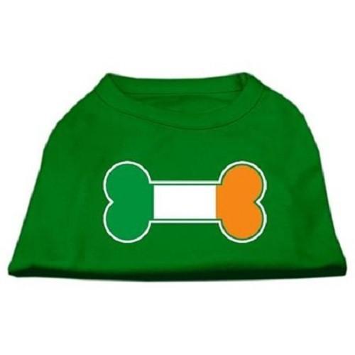 Bone Flag Ireland Screen Print Dog Shirt - Emerald Green | The Pet Boutique