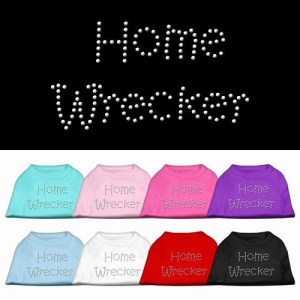 Home Wrecker Rhinestone Dog Tank Top | The Pet Boutique