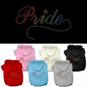 Rainbow Colored Pride Dog Hoodie | The Pet Boutique