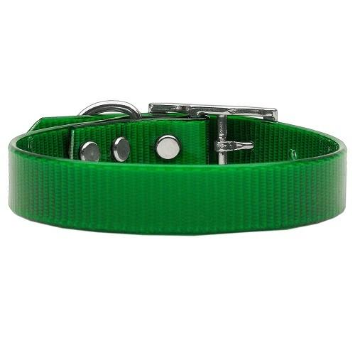 Plain Tropical Jelly Dog Collar - Emerald Green | The Pet Boutique