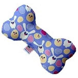 Chicks and Bunnies Stuffing Free Bone Dog Toy   The Pet Boutique