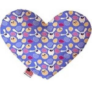 Chicks and Bunnies Stuffing Free Heart Dog Toy   The Pet Boutique
