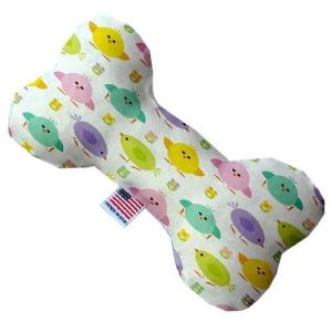 Easter Chickadees Bone Dog Toy   The Pet Boutique