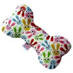 Funny Bunnies Stuffing Free Bone Dog Toy   The Pet Boutique