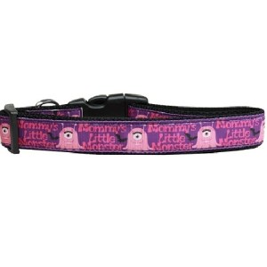Mommy's Little Monster Nylon Cat Collar | The Pet Boutique