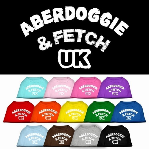 Aberdoggie UK Screen Print Dog Shirt | The Pet Boutique