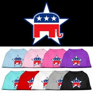 Republican Screen Print Pet Shirt | The Pet Boutique