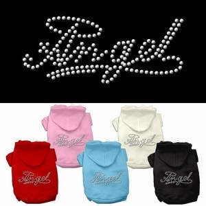 Angel Rhinestud Pet Hoodie | The Pet Boutique