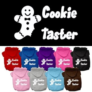 Cookie Taster Screen Print Pet Hoodie | The Pet Boutique