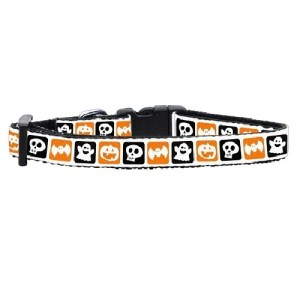 Classic Halloween Nylon Dog Collar | The Pet Boutique
