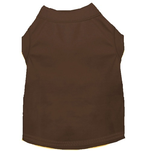 Plain Pet Shirt - Brown | The Pet Boutique