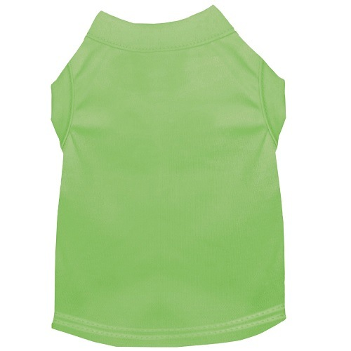 Plain Pet Shirt - Lime Green | The Pet Boutique