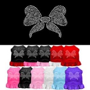Rhinestone Bow Pet Dress | The Pet Boutique