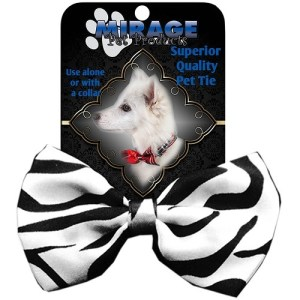 Zebra Pet Bow Tie | The Pet Boutique