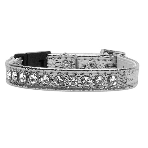 Breakaway Cat Collar - Silver | The Pet Boutique