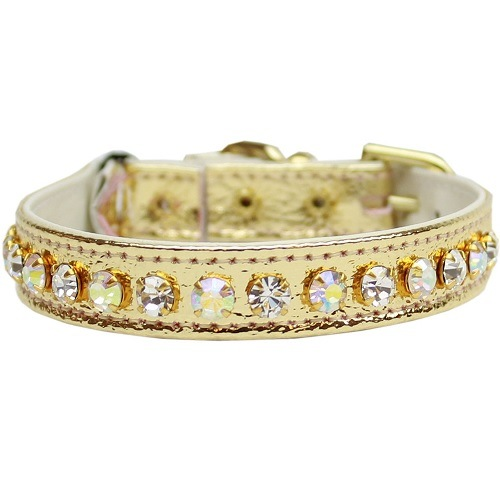 Deluxe Cat Collar - Gold | The Pet Boutique