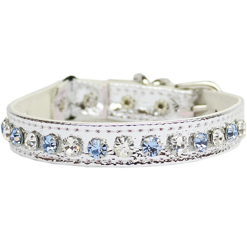 Deluxe Cat Collar - Silver | The Pet Boutique