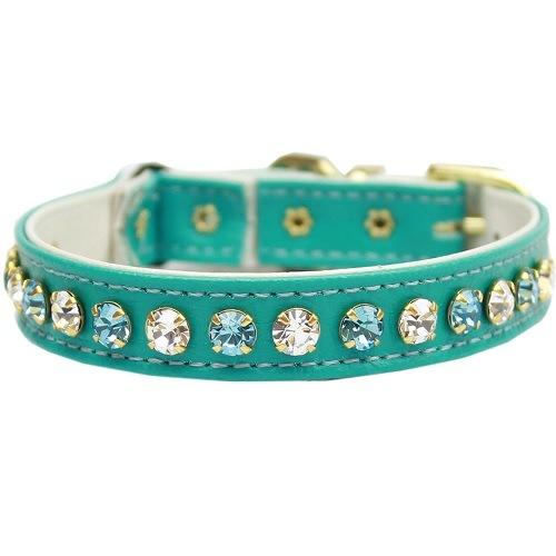 Deluxe Cat Collar - Turquoise | The Pet Boutique
