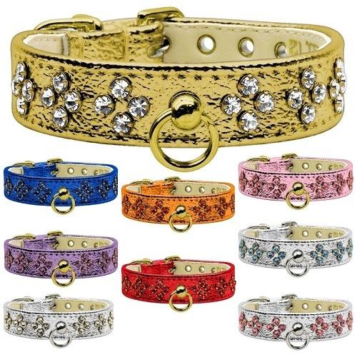 Metallic Tiara Dog Collar | The Pet Boutique