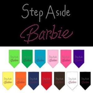 Step Aside Barbie Rhinestone Pet Bandana | The Pet Boutique