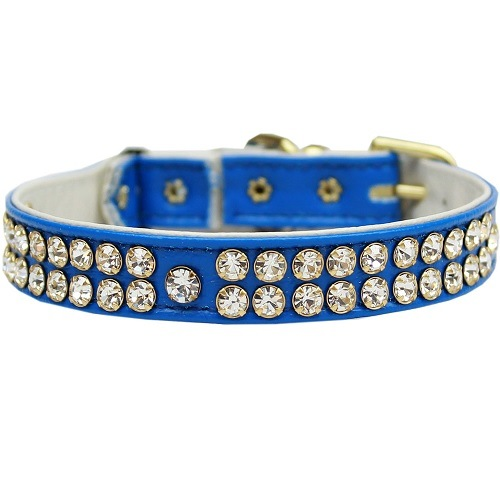 Swank Cat Safety Collar - Blue | The Pet Boutique