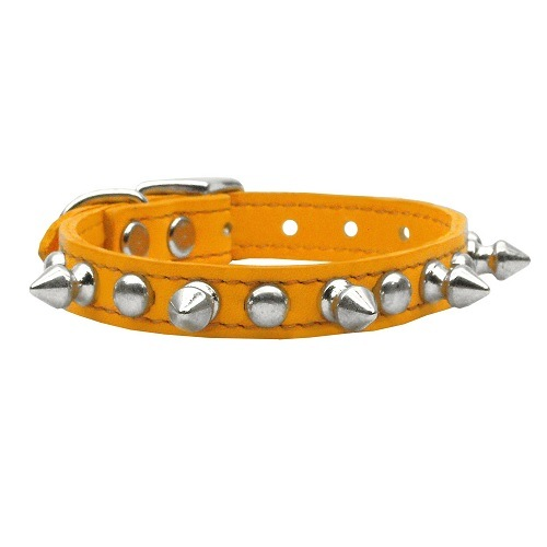 Chaser Leather Dog Collar - Mandarin | The Pet Boutique
