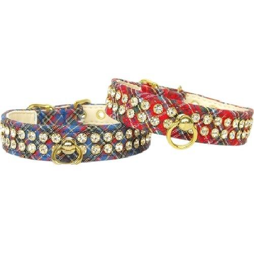 Plaid Dog Collar #72 | The Pet Boutique