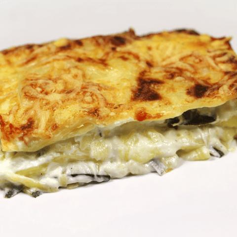 Lasagne à la courgette et au fromage de chèvre