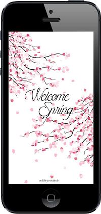 Fond d'écran - WELCOME SPRING