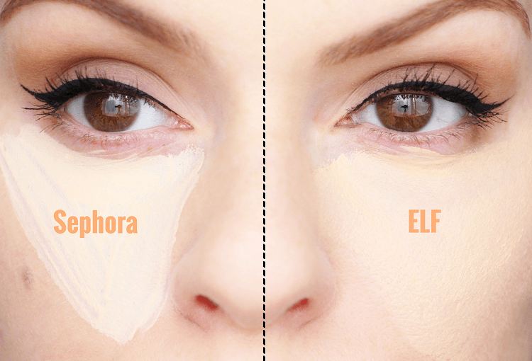 ELF & Sephora Anticernes Swatches