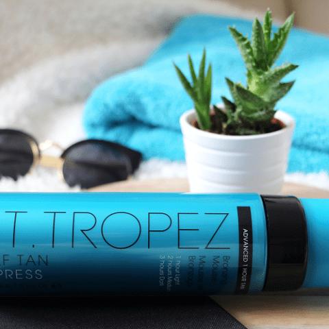 Un bronzage express avec St. Tropez