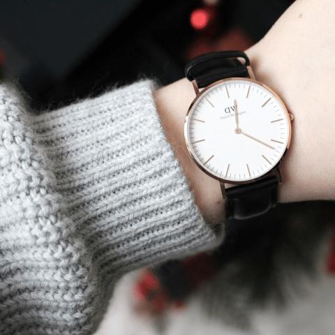 Une montre Daniel Wellington, un joli cadeau