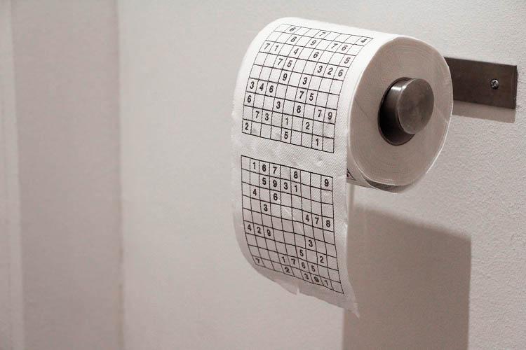 Papier toilette Coolgift Sudoku