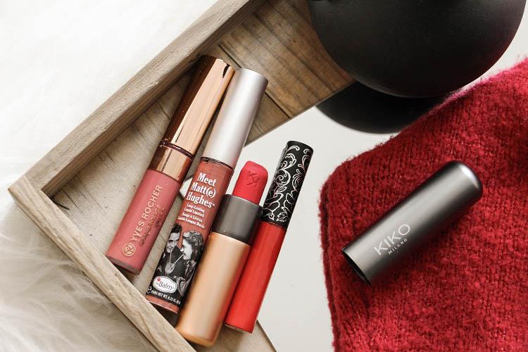 Rouges à lèvres bonne tenue