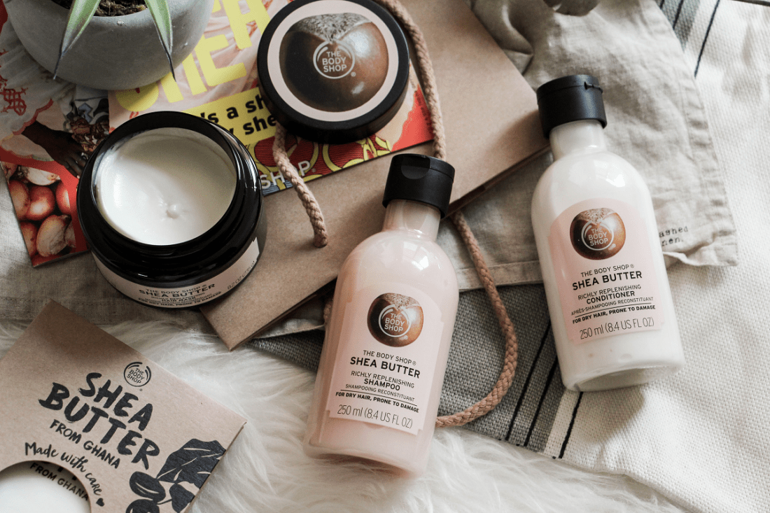 Soins cheveux karite The Body Shop