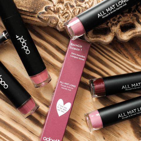 Les nouveaux rouges à lèvres liquides mats Adopt'