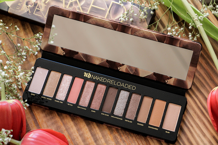 Palette fards naked reloaded