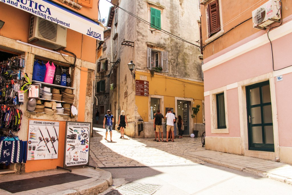 Rovinj magasin