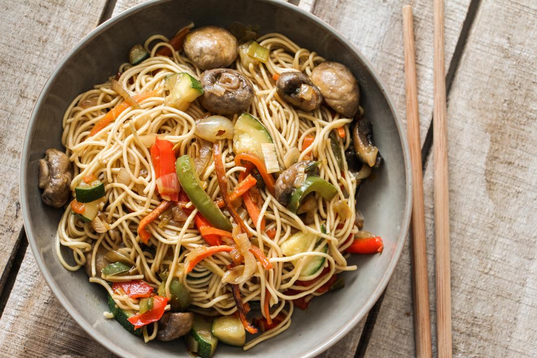 recette wok légumes