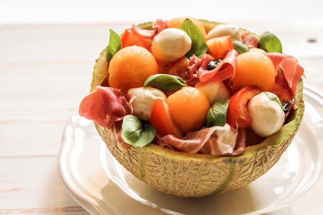 recette salade melon jambon