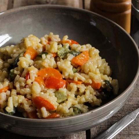 Risotto aux légumes