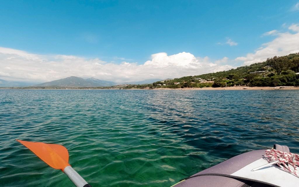 Kayak Porticcio