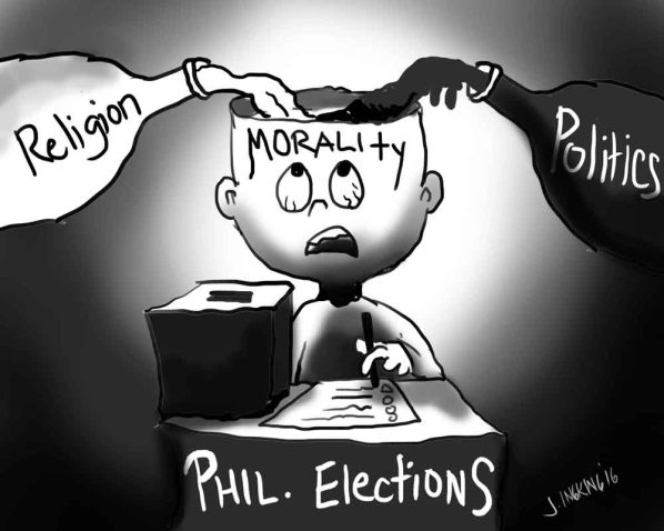 Cartoon-editorial