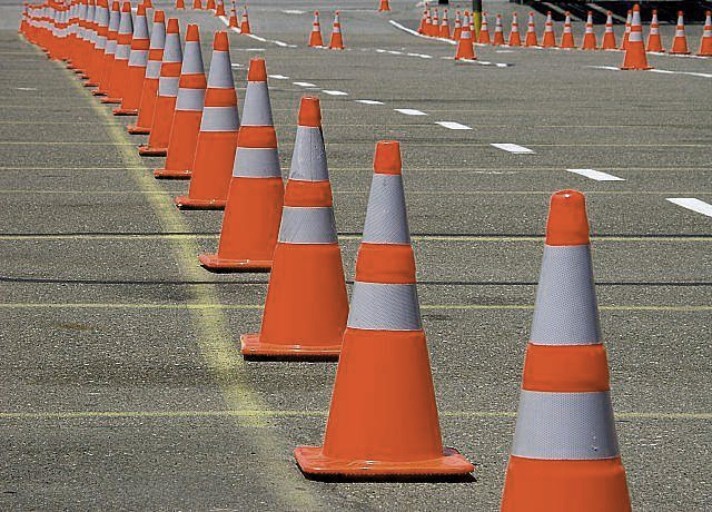 This image has an empty alt attribute; its file name is road-cones.jpg