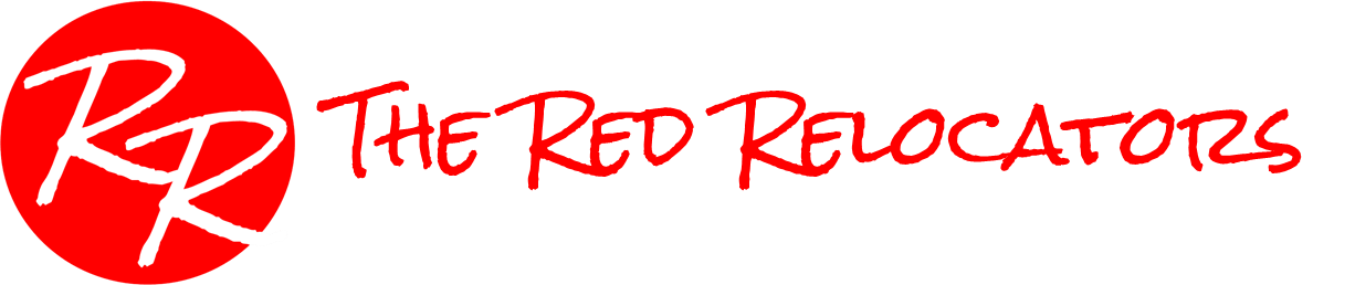 The Red Relocators Logo