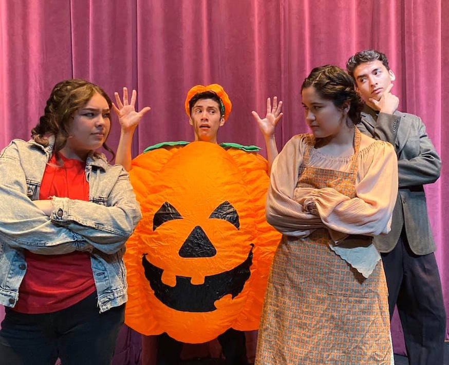 Cinderella Eats Rice and Beans: A Salsa Fairytale — San José City College's successful children's theatre touring production in 2019.