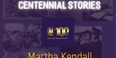 Centennial stories - Retired Faculty Martha Kendall