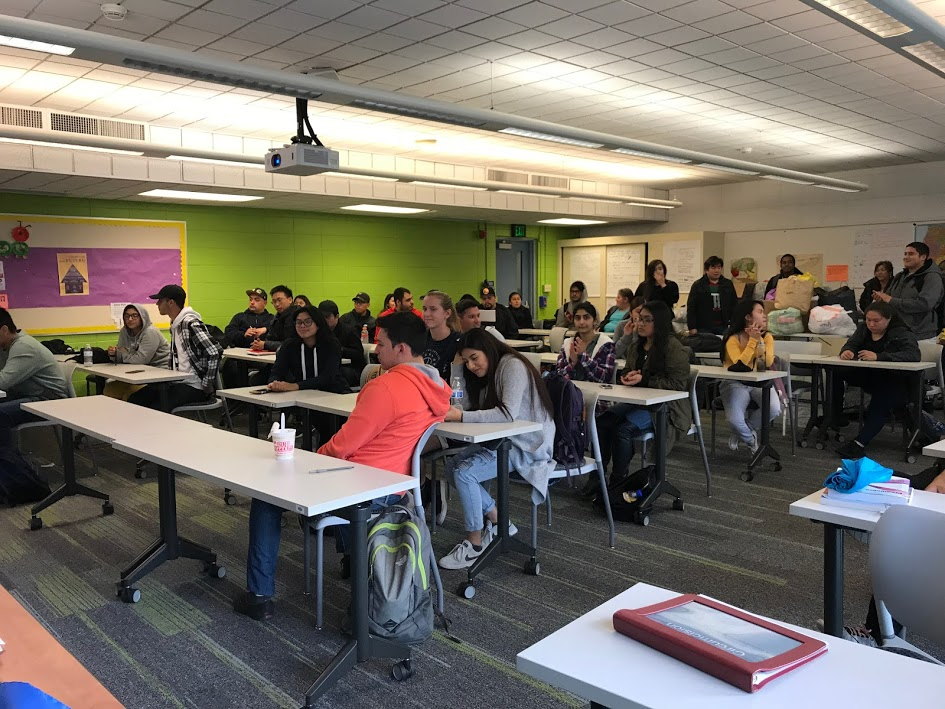 Sociology students at San José City College.
