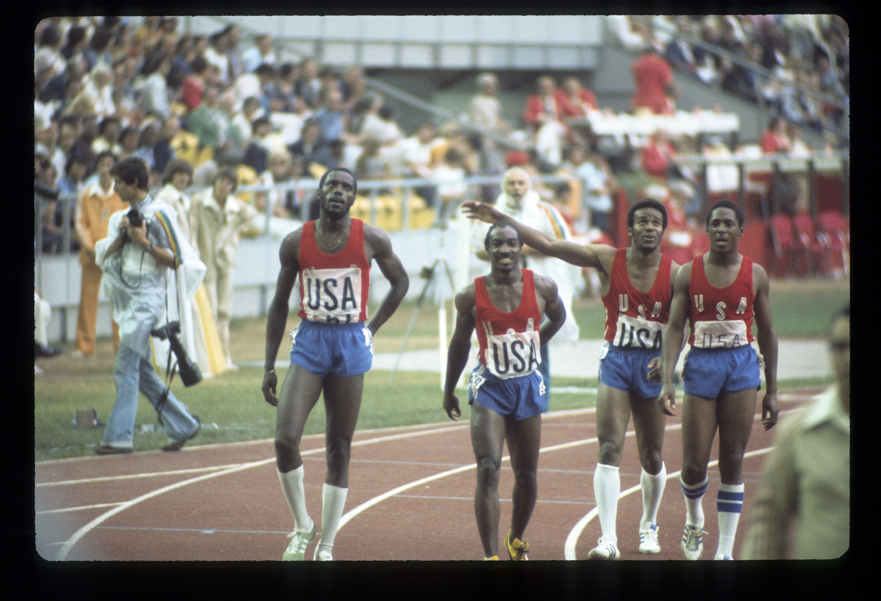 1976 MEN'S 4 X 100 RELAY OLYMPIC GOLD MEDAL WINNERS